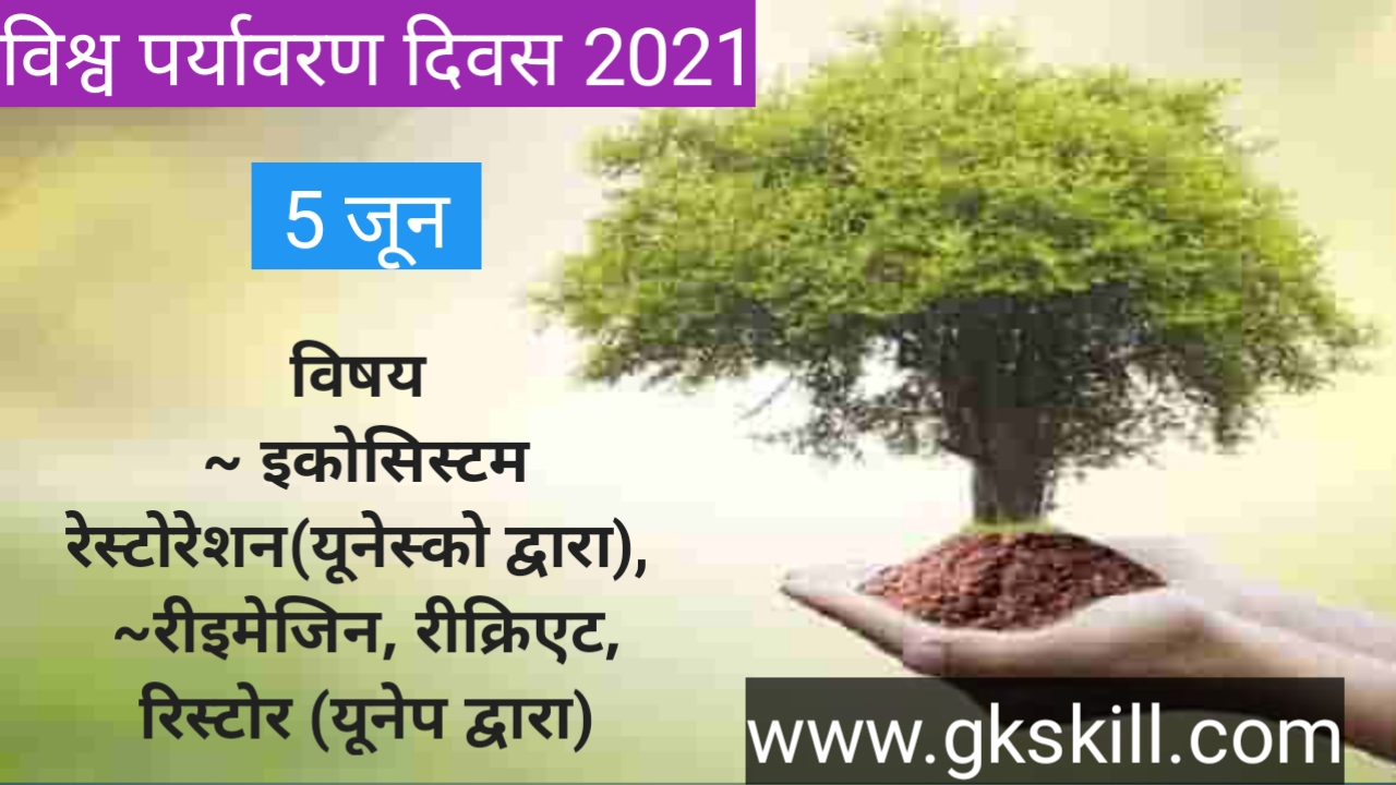 World environment Day 2021: विश्व पर्यावरण दिवस थीम, इतिहास, उद्देश्य